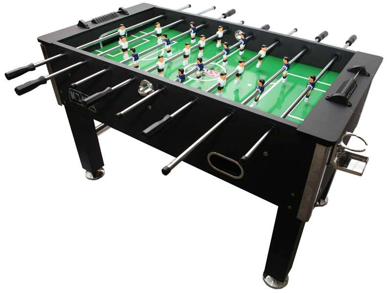 Kick Triumph 55 Foosball Table In Black - Info And Review