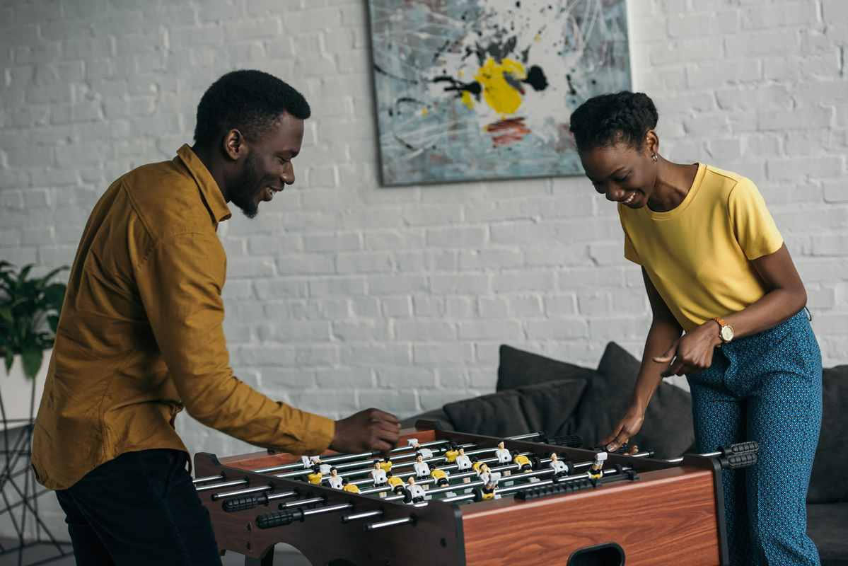 Best Foosball Table for The Office. Game Room with Reviews!