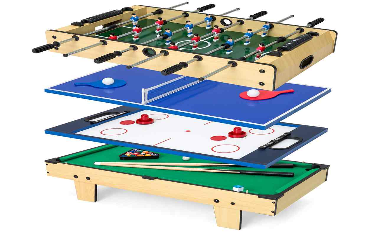 4-in-1 Foosball Multi-Game Tables – Buyer's Guide & Reviews