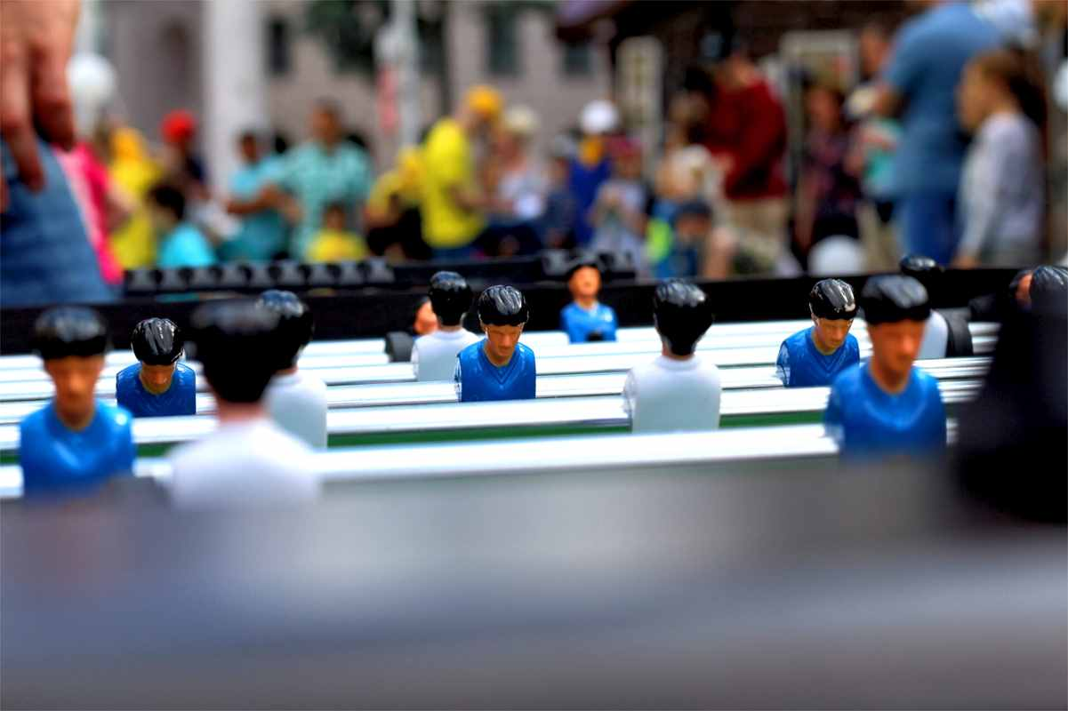 Foosball compitition