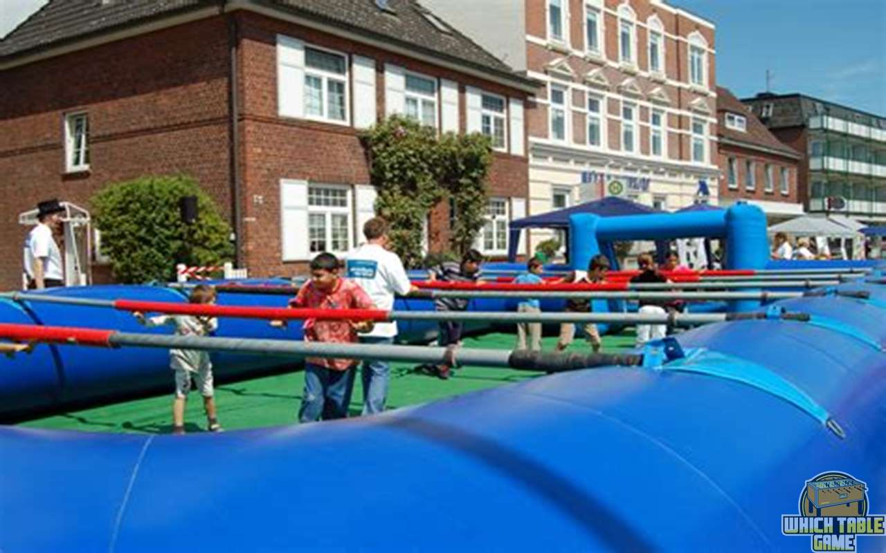 Human Foosball or Real-Life Foosball: How to Play & More
