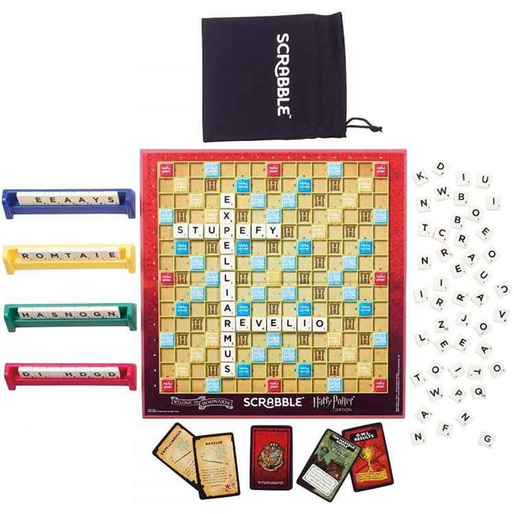 Scrabble World of Harry Potter Board Game 2