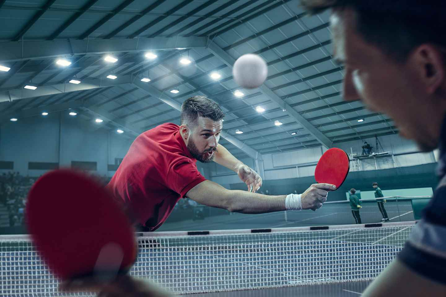 Best Table Tennis Rubber with High Control & Spin Rating