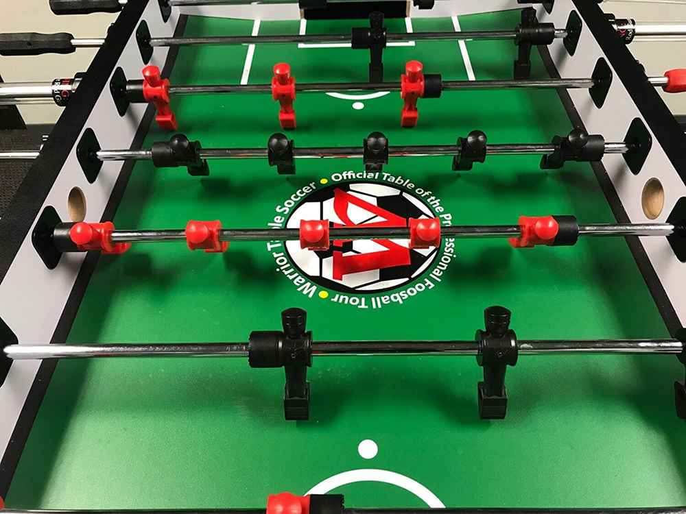 Top 5 Warrior Foosball Tables Reviews 2021