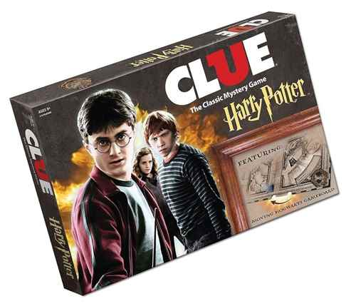 USAOPOLY Clue Harry Potter Board Game2