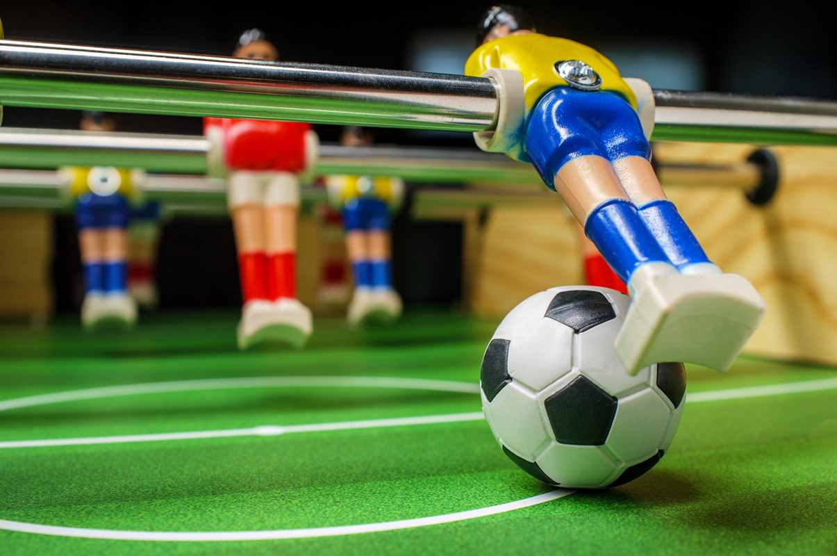 How To Practice Foosball By Yourself