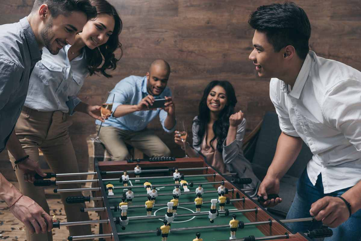 7 Foosball Drinking Games Everybody Loves @ Bars & Parties