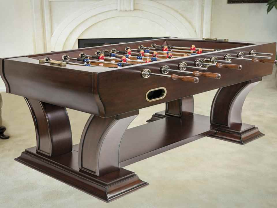Wooden Foosball Tables : Six Best Wooden Foosball Tables