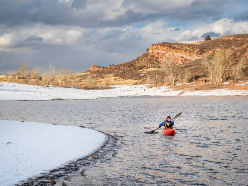 Thinking about kayaking in this cold weather?