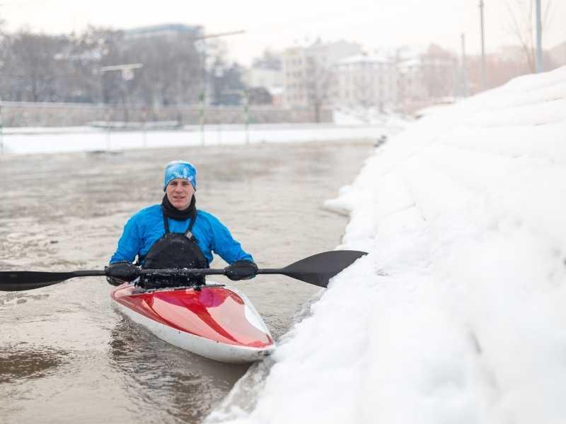 winter Kayak