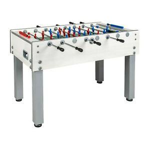 Garlando G 500 Indoor Foosball Table with Telescoping Steel Rods