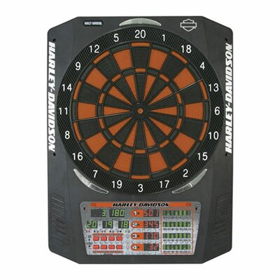 Harley Davidson Electronic Dartboard with Dart