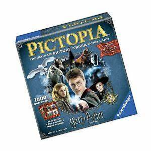 Pact Harry Potter Edition Family Trivia Board Game For Kids