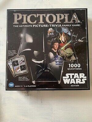 Pictopia Star Wars Edition Board Game