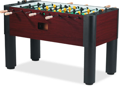 Tornado Crafted Wood Designer Foosball Table Made in The USA