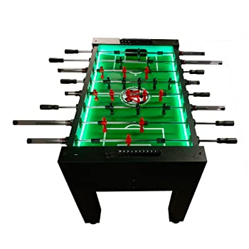 Warrior Table Soccer Professional Foosball Table LED Enhanced